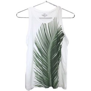 J. Crew factory palm tank Collectors Tees